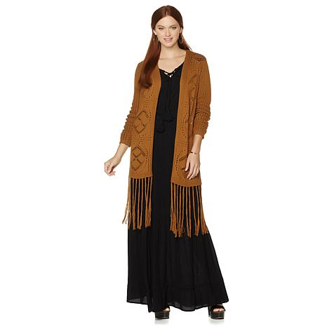 twiggy LONDON Fringe Cardigan