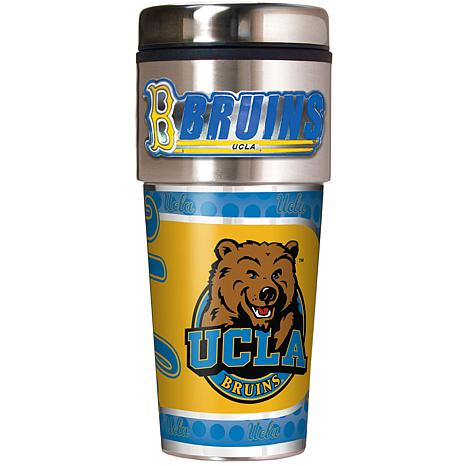 UCLA Bruins Travel Tumbler w/ Metallic Graphics and Team Logo