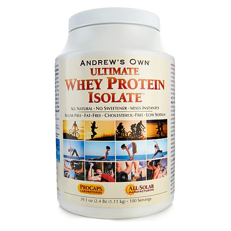 Ultimate Whey Protein Isolate - 100 Servings