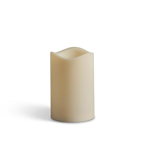 "Unmatched LED 4"" Outdoor Pillar Candle"