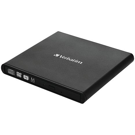 Verbatim External Slimline CD/DVD Writer Optical Drive