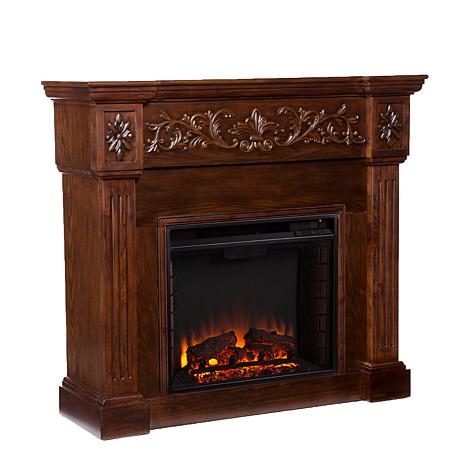 Vercelli Electric Fireplace - Espresso