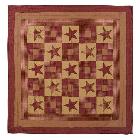 VHC Brands Ninepatch Star Quilt - Twin