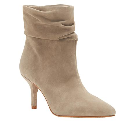 Vince Camuto Abrianna Leather Pointed-Toe Bootie