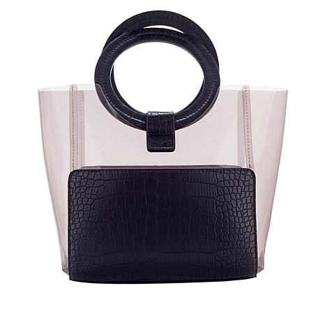 Vince Camuto Clea Clear Tote