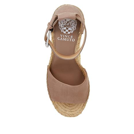 8d12f092abe Vince Camuto Leera Leather Espadrille Wedge Sandal - 8912260
