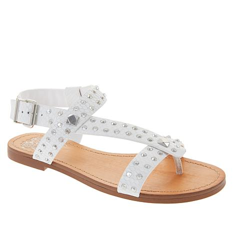 8a64ce44df0609 Vince Camuto Ravensa Leather Studded Thong Sandal - 8936304