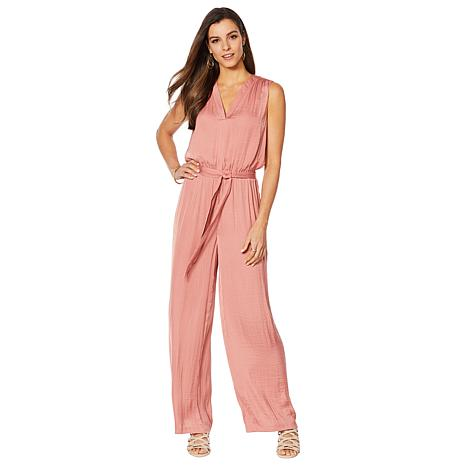 Vince Camuto Rumple Belted Jumpsuit