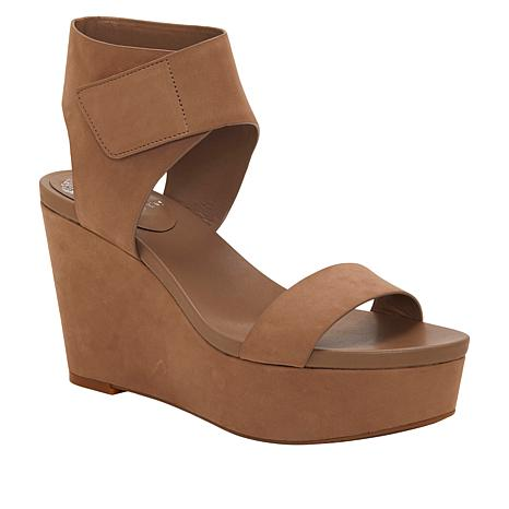 Vince Platform Leather Velista Sandal Wedge Camuto 3JcFTK1l