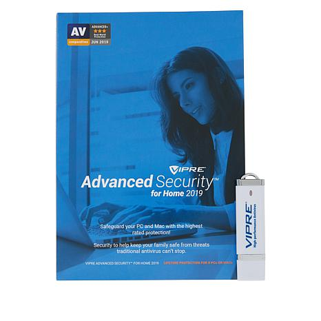 VIPRE Antivirus Lifetime Home Security for 8 PCs or Macs