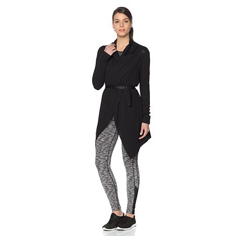 Warrior by Danica Patrick Heathered Thermal Knit Wrap