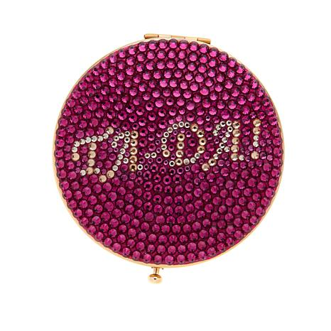 Wendy Williams Clear or Fuchsia Bling Compact