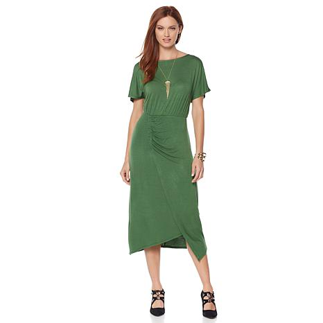Wendy Williams Ruched Waist Knit Dress