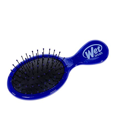 Wet Brush Mini Detangler Brush - Blue