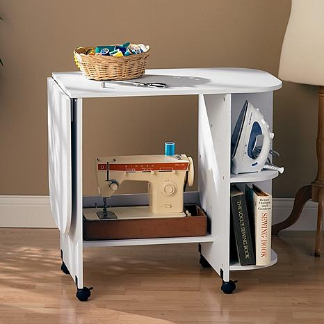 White Sewing Table 6408673 Hsn
