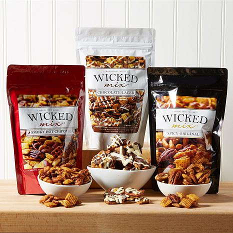 Wicked Mix 3-pack Variety Snack Mix