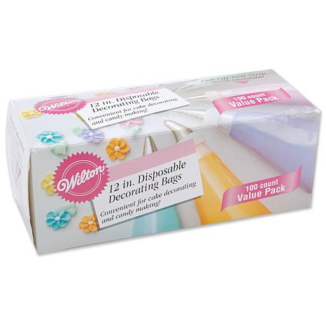 Wilton Disposable Decorating Bags - 100-pack