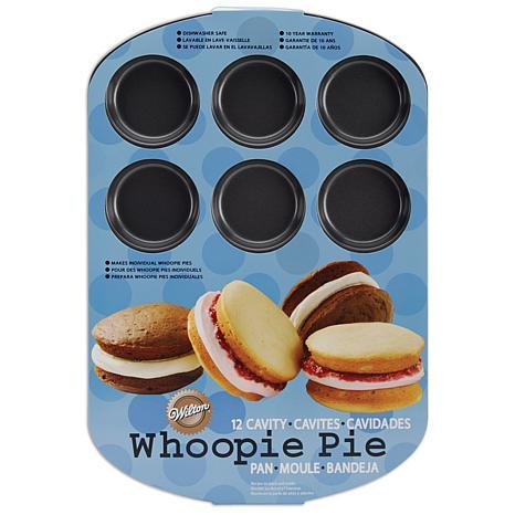 Wilton Whoopie Pie Pan - 12 Round Cavities