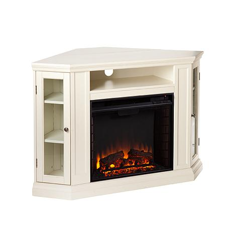 Wimberly Convertible Media Fireplace - Ivory