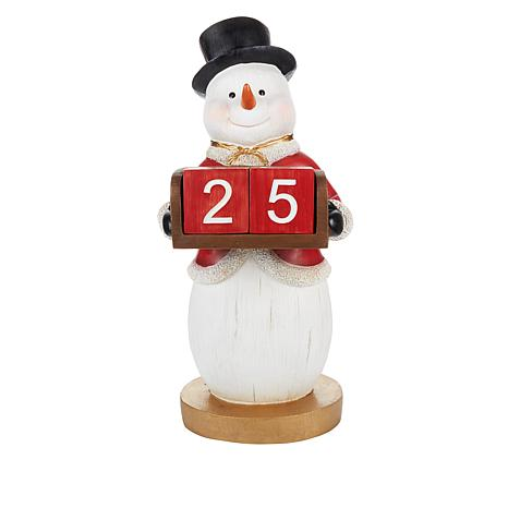 Wind & Weather Christmas Countdown Statue