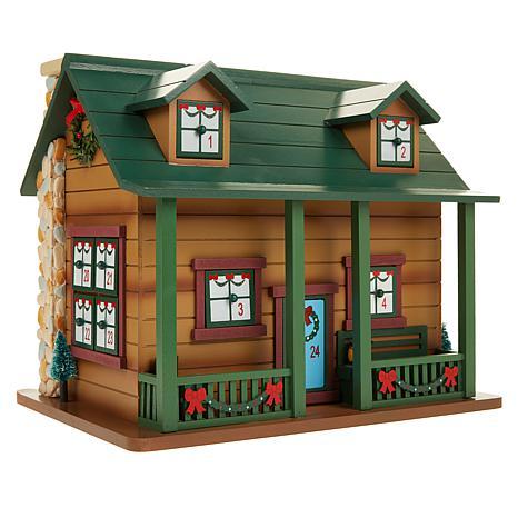 Wind & Weather Wooden Cabin Advent Calendar