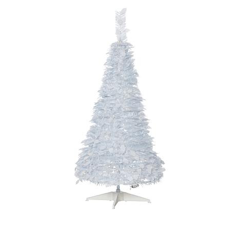 Exclusive Winter Lane 4 Pop Up White Pine Pre Lit Christmas Tree