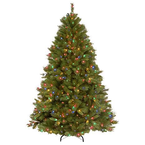 Winter Lane 7-1/2' Winchester Pine Tree w/Multicolor