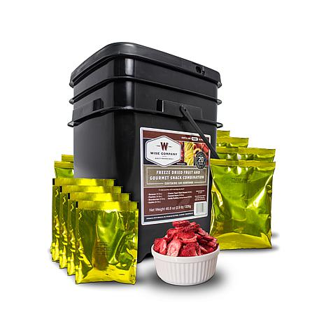 Wise Company 120-Serving Fruit, Pudding and Sauce Kit