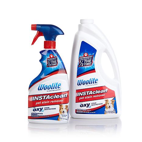 Woolite InstaClean Pet Stain Remover w/64 fl oz Refill