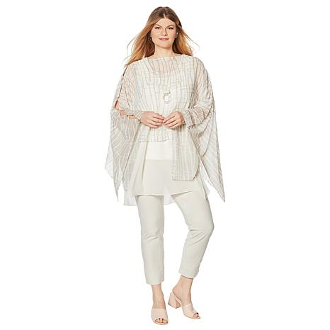 6a3d70725 WynneLayers Convertible Poncho - 8843867 | HSN