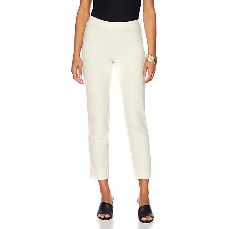WynneLayers Essential Knit Crepe Ankle Pant - Basic Colors