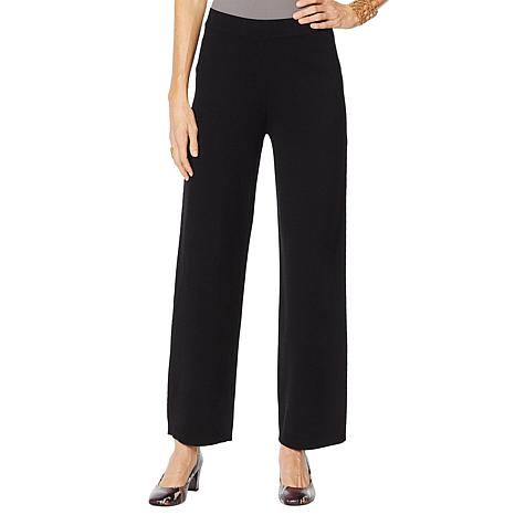 WynneLayers Wide Leg Sweater Knit Pant