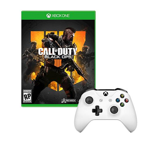 Xbox One S Controller With Call Of Duty Black Ops 4 Game