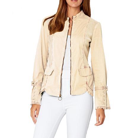 XCVI Lilian Stretch Poplin Jacket