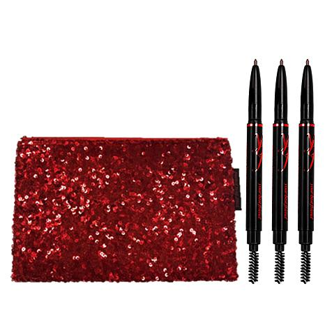 ybf Automatic Brow 3-pack with Cosmetic Bag