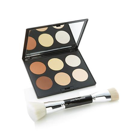 ybf Simply Superb Sculpt Set with Contour Brush