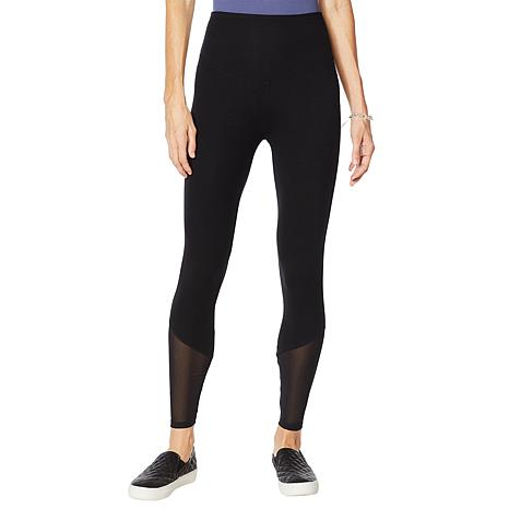 Yummie Compact Cotton Mesh Detail Shaping Legging