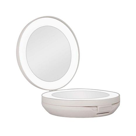 Zadro Led Lighted Travel Mirror 8390419 Hsn