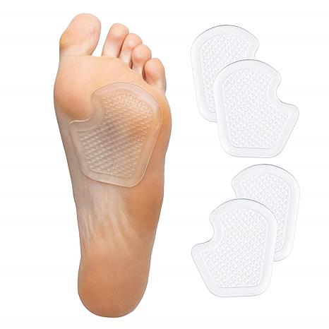 ZenToes 2-pack Dancer Pads for Ball of Foot and Metatarsal Pain