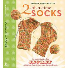 """2-at-a-Time Socks"" Book by Melissa Morgan-Oakes"
