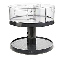 2-Tier Adjustable Turntable with Removable Bins