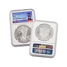 2011 MS69 NGC S-Mint Silver Eagle with Auto-Ship®
