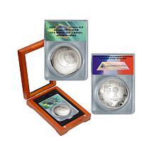 2014 FIFA World Cup Brazil Silver 10 Euro Coin