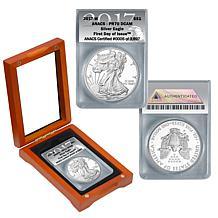 2017 PR70 ANACS FDOI LE 3897 Silver Eagle Dollar Coin