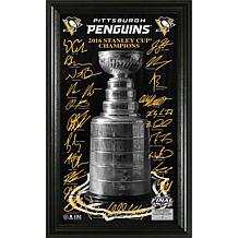 "2017 Stanley Cup Champions ""Trophy"" Signature Photo"