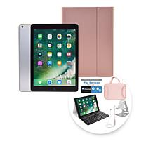 "2018 Apple iPad® 9.7"" Tablet with Keyboard Case & Wireless Earbuds"