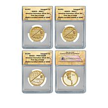 2018 MS67/PR69 FDOI LE 3,946 American Innovation Coins - Auto-Ship<