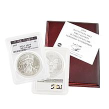2019-W MS70 PCGS Premier Label First Edition Silver Eagle Dollar Coin