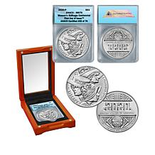 2020 MS70 ANACS FDOI LE 76 Women's Suffrage Centennial Silver Dollar