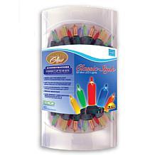 50-LED Warm Glow Multicolor Traditional Mini Light Set